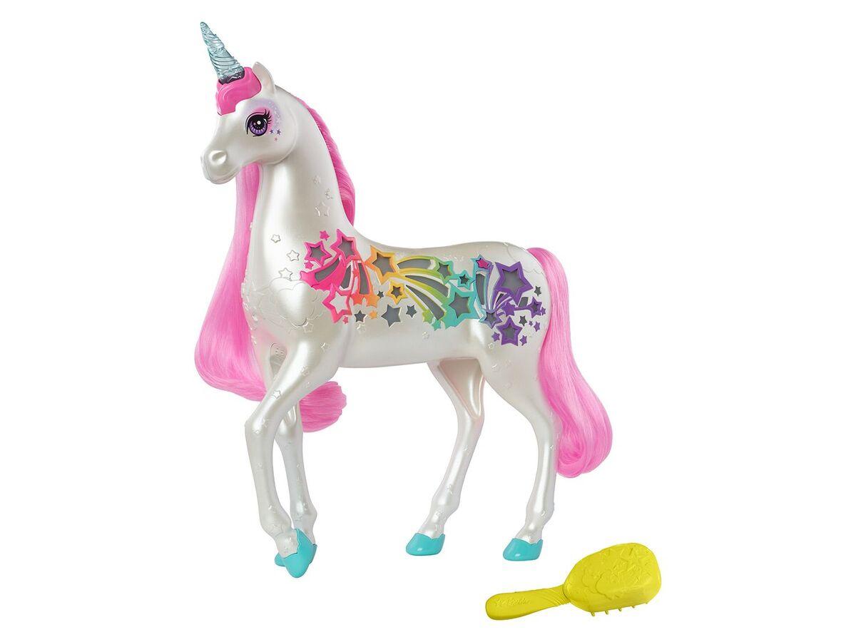 Bild 1 von Barbie Spielfigur Einhorn, mit magischer Bürste, ab 3 Jahren