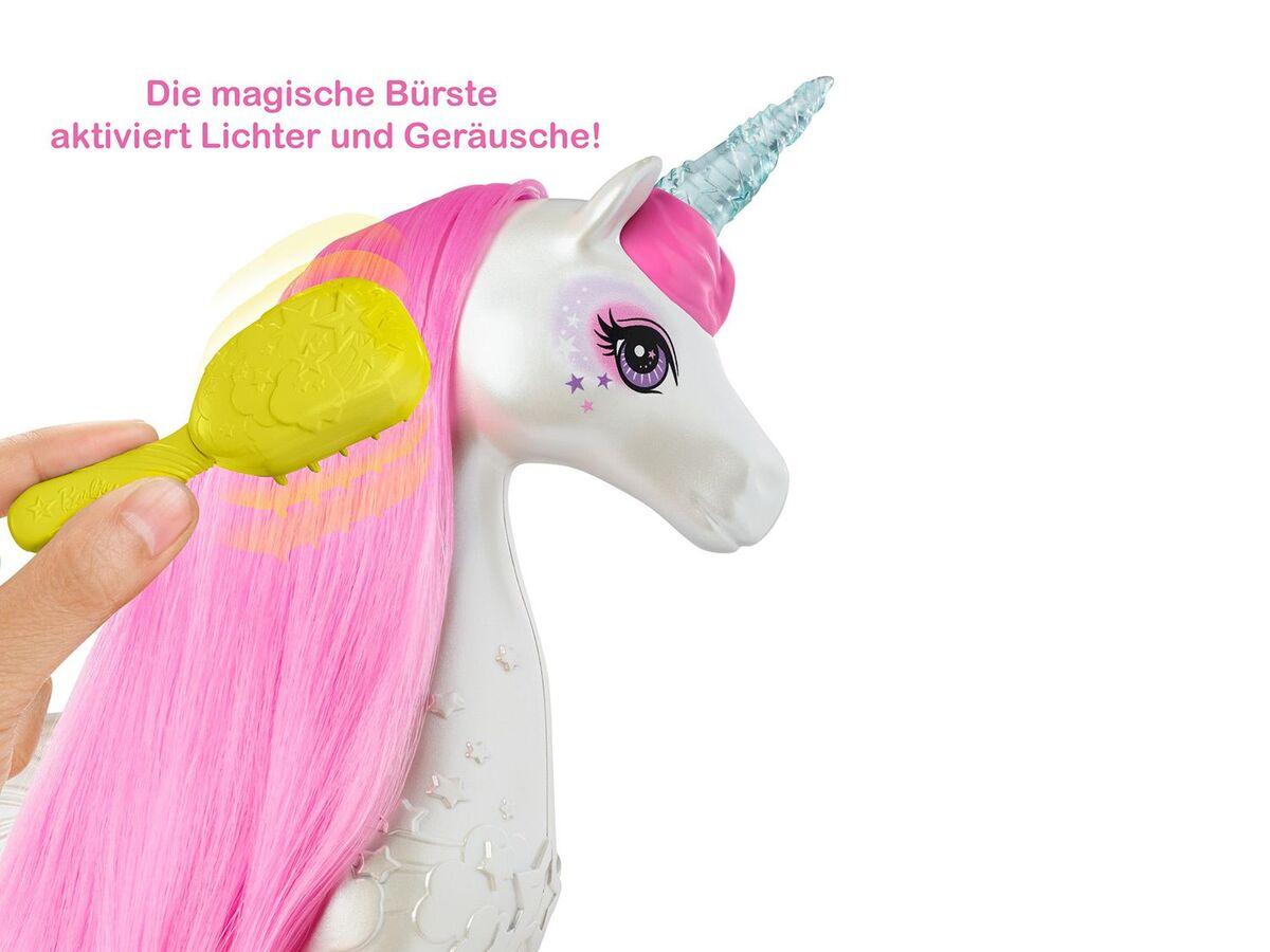 Bild 6 von Barbie Spielfigur Einhorn, mit magischer Bürste, ab 3 Jahren