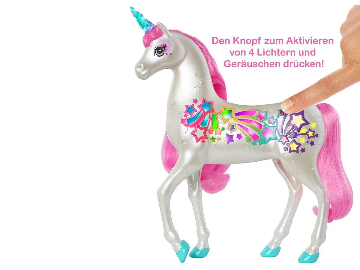 Bild 7 von Barbie Spielfigur Einhorn, mit magischer Bürste, ab 3 Jahren