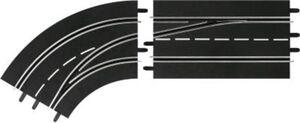 Carrera Digital132 30363  Spurwechselkurve links, außen nach innen