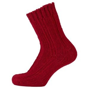 Jack Wolfskin Recovery Wool Classic Kids Kinder Socken 28-30 rot indian red