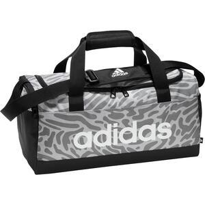 ADIDAS Sporttasche Leo-Muster weiss/grau
