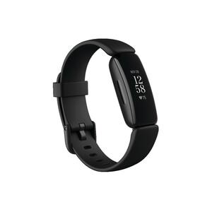 Fitnessarmband Fitbit Inspire HR 2 Herzfrequenzmessung am Handgelenk schwarz