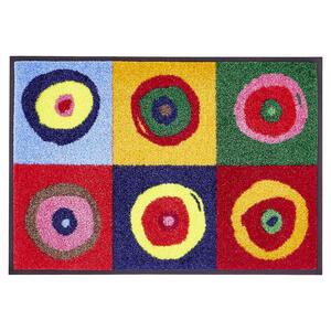 Esposa Fußmatte 40/60 cm multicolor , Sergej , Textil , 40x60 cm , Velours , rutschfest, für Fußbodenheizung geeignet , 004336001651