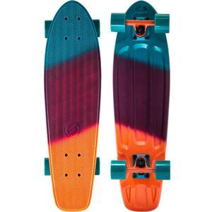 Cruiser-Skateboard Big Yamba Gradient koralle/blau