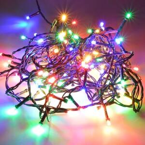 LED Lichterkette 9-36m/120-480LED multicolor bunt innen/außen Weihnachten