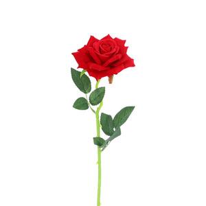 Kunstblume Rose rot 50 cm