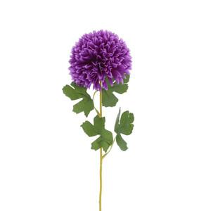 Kunstblume Hortensie violett 55 cm