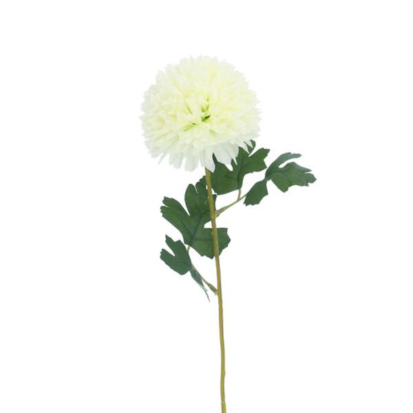 Kunstblume Hortensie creme 55 cm