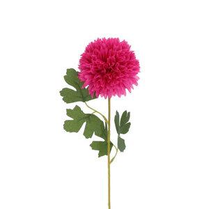 Kunstblume Hortensie pink 55 cm