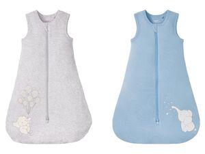 LUPILU® Baby Schlafsack, Reißverschluss, mit Baumwolle
