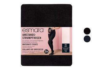 ESMARA® Umstand-Feinstrumpfhose Damen, 2 Stück