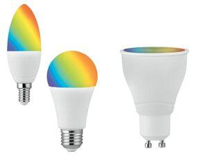 LIVARNO LUX® Leuchtmittel RGB »Zigbee Smart Home«, mit Sprachsteuerung, dimmbar