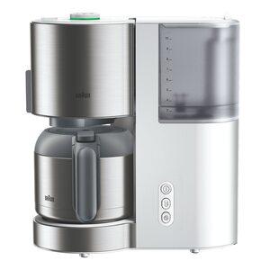 Braun Filterkaffemaschine ID Collection KF5105 weiß/Edelstahl