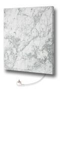 Infrarot-Heizpaneel Marmor Carrara mit Thermostat