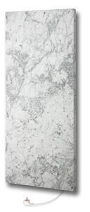 MARMONY Infrarot-Heizpaneel Marmor Carrara m. Thermometer