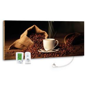 Infrarot-Heizpaneel Coffee Time mit Thermostat
