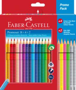 Faber-Castell - Promoset 18+4+2 - Colour Grip