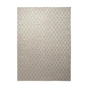 Esprit Handwebteppich 60/110 cm sandfarben , Cyclone , Textil , Abstraktes , 60x110 cm , für Fußbodenheizung geeignet, in verschiedenen Größen erhältlich , 007606020852