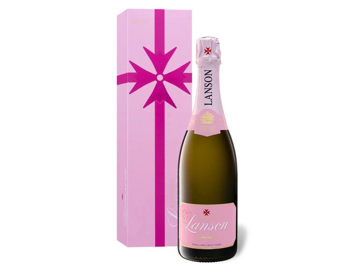 Bild 1 von Lanson Brut Rosé mit Geschenkbox, Champagner