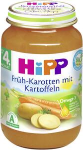 Hipp Bio Früh-Karotten mit Kartoffeln nach dem 4. Monat 190 g