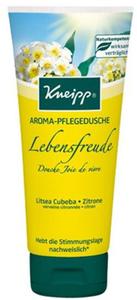 Kneipp Aroma Pflegedusche Lebensfreude mit Litsea und Zitrone 200 ml