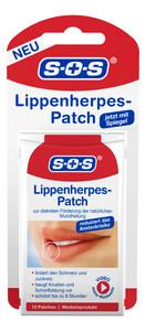 SOS Lippenherpes-Patch 12 Stück