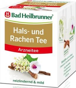 Bad Heilbrunner Hals- und Rachentee 8ST 14G