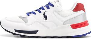 POLO Ralph Lauren, Sneaker Trackster Pony in weiß, Sneaker für Herren