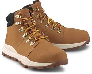 Timberland, Schnür-Boots Brooklyn Hiker in gelb, Stiefel für Herren
