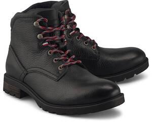Tommy Hilfiger, Boots Winter in schwarz, Stiefel für Herren
