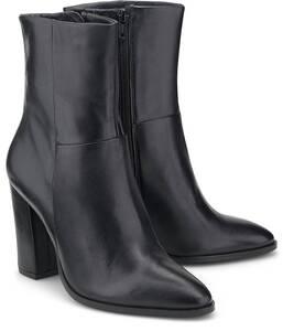 Another A, Leder-Stiefelette in schwarz, Stiefeletten für Damen
