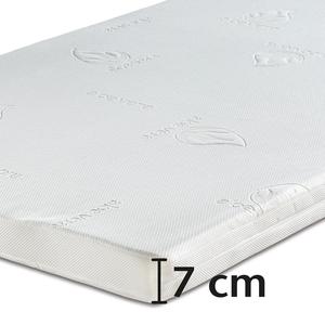 Best-Schlaf Visko-Mineralschaum Matratzen-Wendeauflage »Komfort«, 7 cm dick