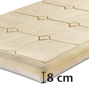 Best-Schlaf Visko-Mineralschaum Klima-Wendeauflage »PLUS«, 8 cm dick
