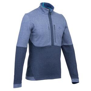 Pullover Naturwandern NH500 Herren marineblau