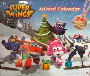 Super Wings Adventskalender 2019 inkl. 24 Super Wings Figuren