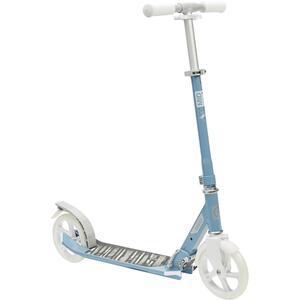 City Roller Scooter Mid 7 mit Ständer grau/blau/weiss