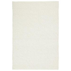 Linea Natura Handwebteppich 200/250 cm weiß , Staufen , Textil , Uni , 200x250 cm , für Fußbodenheizung geeignet, beidseitig verwendbar , 005468000171