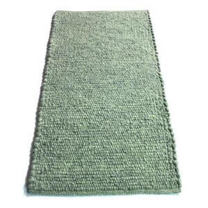Linea Natura Handwebteppich 200/290 cm grau , Lindau 55 , Textil , Uni , 200x290 cm , für Fußbodenheizung geeignet, beidseitig verwendbar , 005468000772