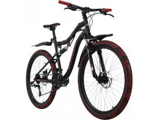 KS Cycling Mountainbike Fully 26 Zoll Crusher 21 Gänge