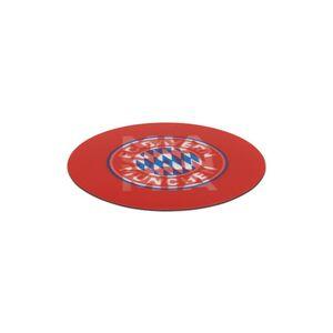 FCB Aufkleber 3D 8,5cm rot/weiß