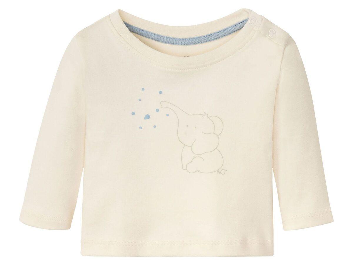 Bild 3 von LUPILU® Baby Langarmshirts, 3 Stück, aus reine Baumwolle