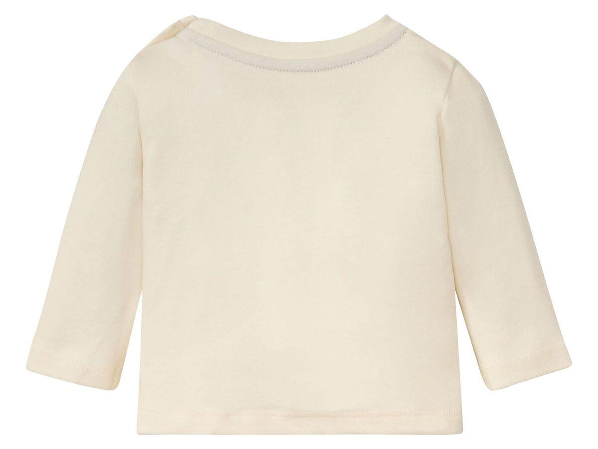 Bild 4 von LUPILU® Baby Langarmshirts, 3 Stück, aus reine Baumwolle