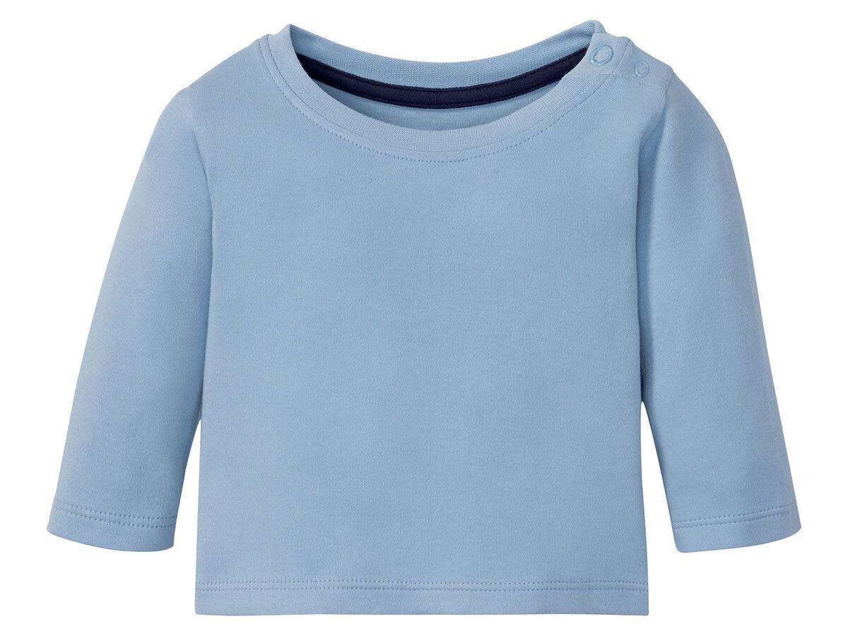 Bild 5 von LUPILU® Baby Langarmshirts, 3 Stück, aus reine Baumwolle