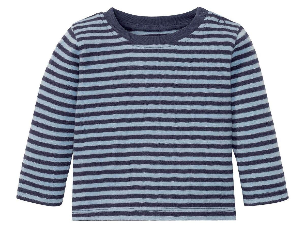 Bild 7 von LUPILU® Baby Langarmshirts, 3 Stück, aus reine Baumwolle