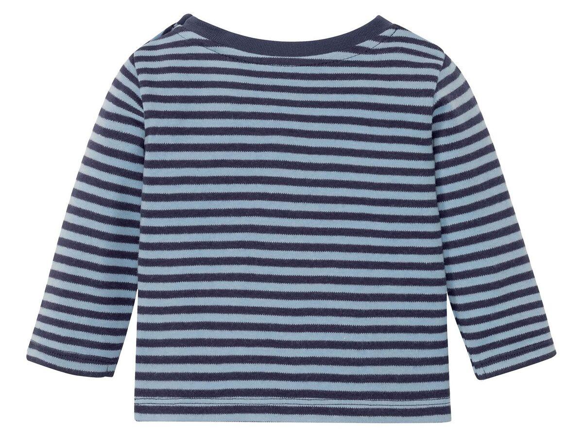 Bild 8 von LUPILU® Baby Langarmshirts, 3 Stück, aus reine Baumwolle