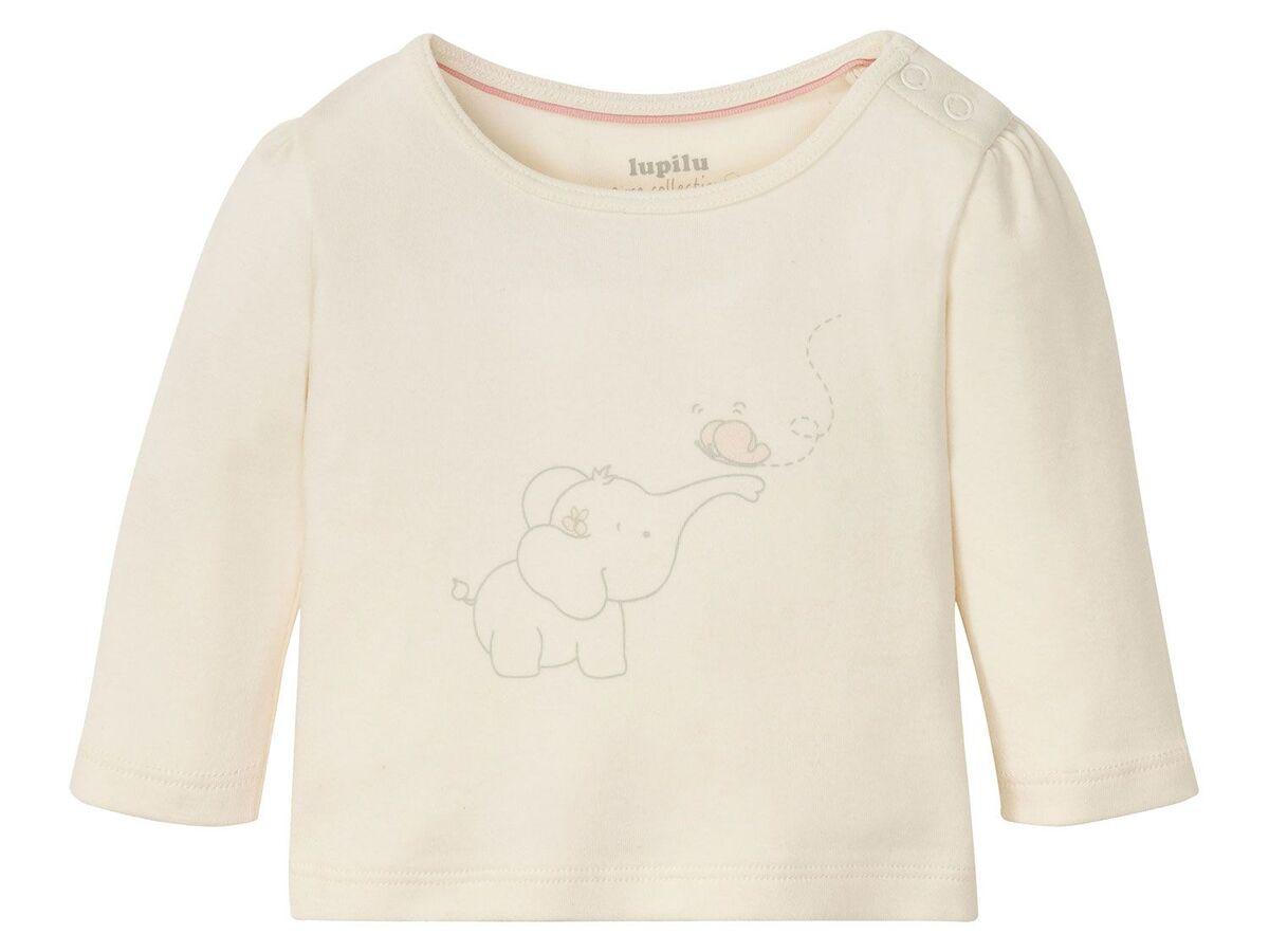 Bild 10 von LUPILU® Baby Langarmshirts, 3 Stück, aus reine Baumwolle