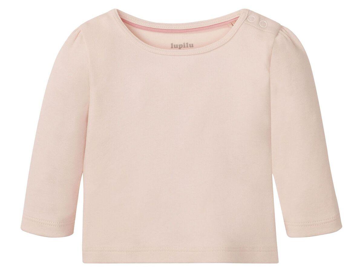 Bild 12 von LUPILU® Baby Langarmshirts, 3 Stück, aus reine Baumwolle