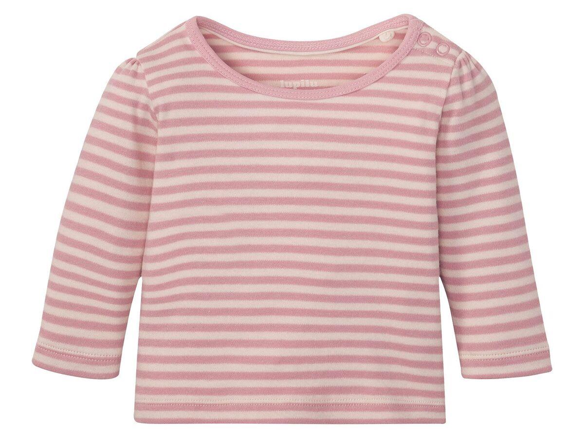 Bild 14 von LUPILU® Baby Langarmshirts, 3 Stück, aus reine Baumwolle