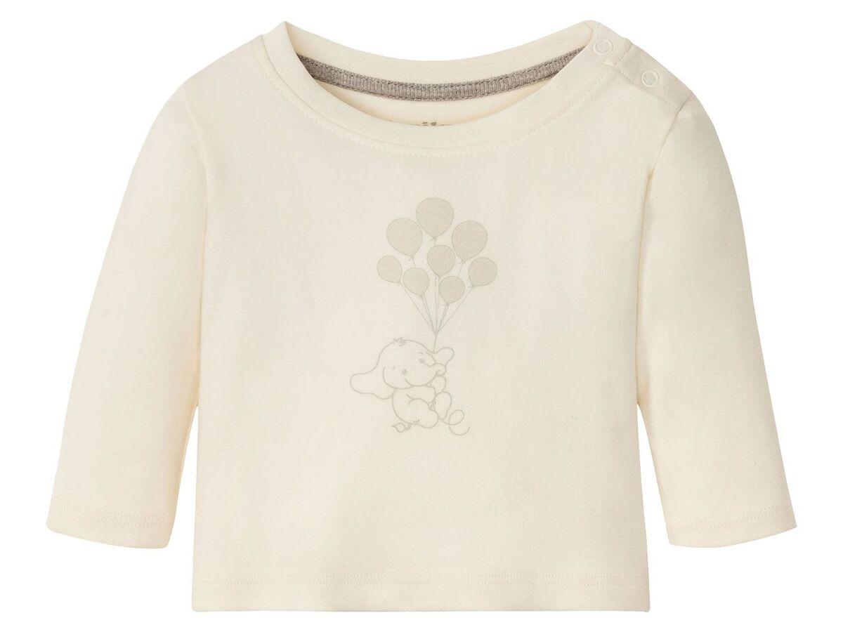 Bild 17 von LUPILU® Baby Langarmshirts, 3 Stück, aus reine Baumwolle